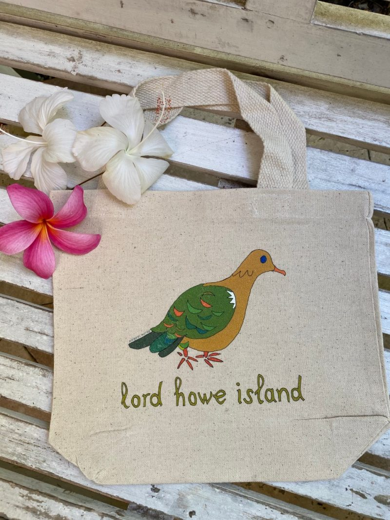 Lord Howe Island art Emerald Ground Dove Kids Bag tote bag