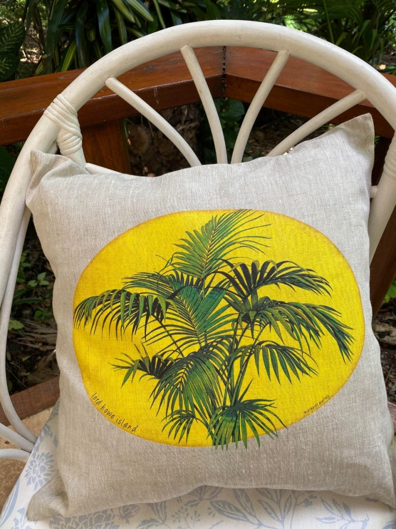 Lord Howe Island Kentia Palm art cushion cover